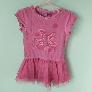 Toddler girls (18mo) pink ballerina shirt